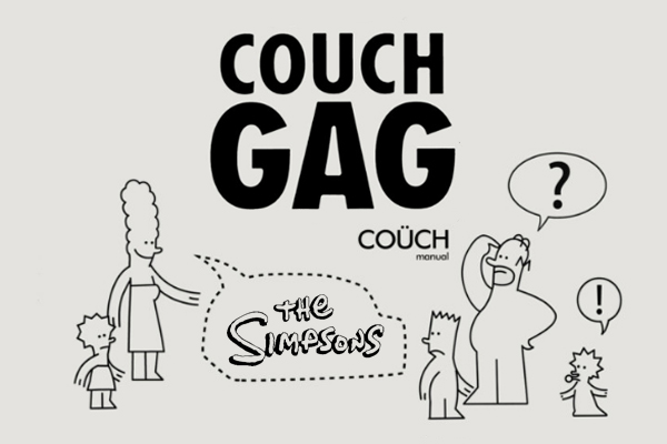 couch gag -manual